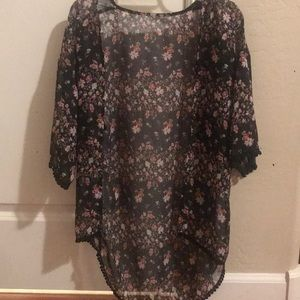 floral cover up